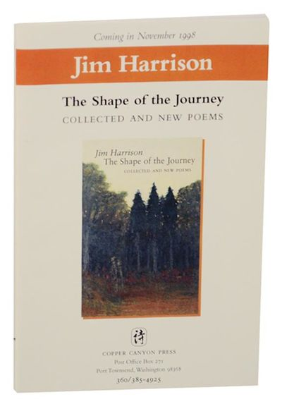 Port Townsend, WA: Copper Canyon Press, 1998. First edition. Softcover. A 32 page advance excerpt th...