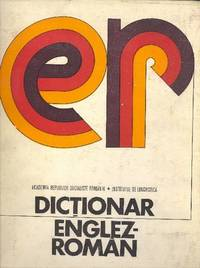 Dictionar Englez-Român. [ER]  [English-Romanian Dictionary; English-Rumanian Dictionary]