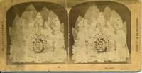Abraham Lincoln Stereoview Photograph of Funeral Leaves