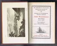 Memoirs of an Eighteenth-Century Footman: John MacDonald Travels (1745-1779. (Originally published as Travels in Various Parts of Europe, Asia, and Africa, during a series of thirty years and Upwards, in 1790)
