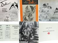 6 Rare Books on Salvador Dali: Ode a Gala, A Catalog of his Graphic Art, Ode a Dali, Nature Morte Vivante, Drawings of Dali, Poetic Homage to Gala Salvador Dali