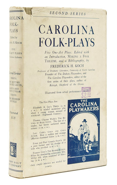 New York: Henry Holt and Company, 1924. First edition. Thomas Wolfe's first appearance in a book, fo...
