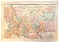 Montana Railroads Map