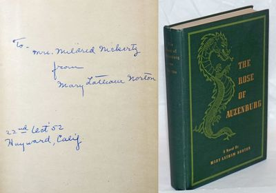 San Francisco: self-published by author as The Mercury Press, 1947. Hardcover. 304p., plus 1p newspa...