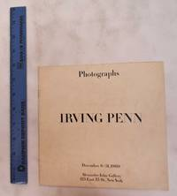 Irving Penn: Photographs. December 6-31, 1960
