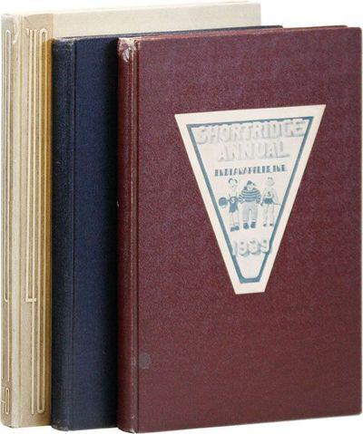 Indianapolis: , 1938-1940. First Edition. Three volumes; quarto (25.5 - 27.25cm.); original cloth, t...