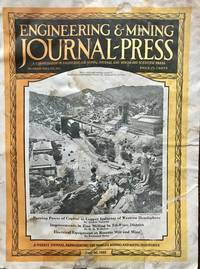 Engineering & Mining Journal-Press Volume 115, Number 26, June 30, 1923