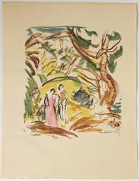 Le Livre de Job, poèmes. Avec dix-huit lithographies originales d'Othon Friesz.