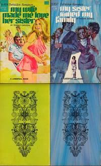 Forbidden Romances (5 vintage adult paperbacks)