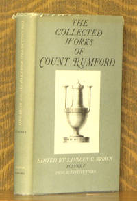 THE COLLECTED WORKS OF COUNT RUMFORD, VOL 5, PUBLIC INSTITUTIONS (INCOMPLETE SET)