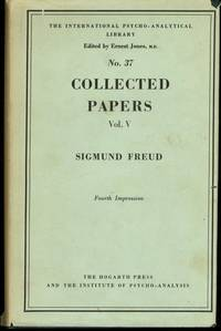 SIGMUND FREUD COLLECTED PAPERS VOLUME V (vOLUME 5)