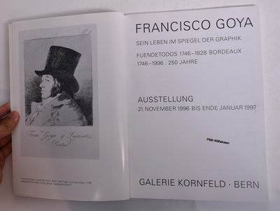 Bern: Galerie Kornfeld, 1996. Paperback. VG- ex-museum library copy with usual markings, light wear ...