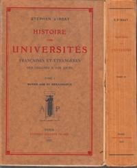 Histoire des Universités françaises et étrangères des origines à nos jours