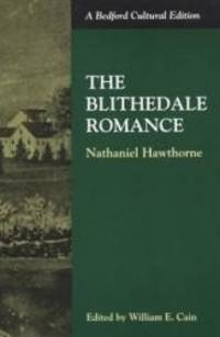 image of The Blithedale Romance (Bedford Cultural Editions)