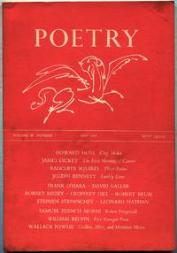 Poetry: Volume XC, Number 2, May 1957