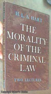 image of The Morality of the Criminal Law; Two Lectures