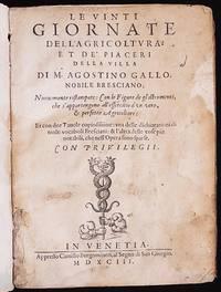 image of Le Vinti Giornate dell' Agricoltura, et de' Piaceri della Villa di m. Agostino Gallo