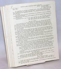 image of Mendocino County Historical Society Newsletter: Vol. 3 No. 5 April 1965 / Vol. 5 Nos. 2, 3, 5, 6 / Vol. 6 Nos. 1 thru 6 / Vol. 7 Nos. 1 thru 6 / Vol. 8 Nos. 1, 2  [19 unduplicated issues, a broken run]