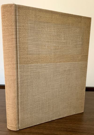 New York & London: Hodder & Stoughton, 1913. Hardcover. Orig. pebble grained tan cloth, front cover ...
