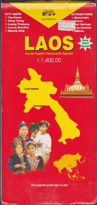 Laos 1:1,400,000 map (Golden Triangle Rider map)