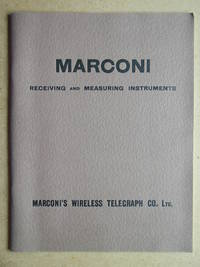 image of Marconi Receiving and Measuring Instruments.