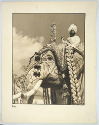 image of Maharaja Elephants in Ceremonial Dress.  3 Silver gelatin photographs