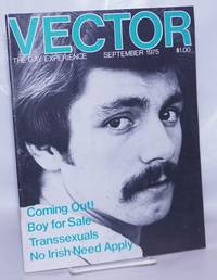 image of Vector: the gay experience; vol. 11, #9 September 1975: Transsexuals