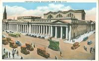 Pennsylvania Station, New York City late 1910s early 1920s unused Postcard