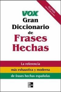 image of Vox Gran Diccionario de Frases Hechas
