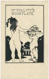 image of (Bookplate for Herbert Charles Pollitt): Mr Pollitt's Bookplate