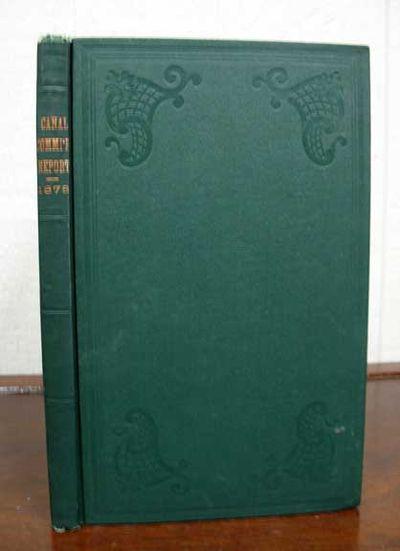 (n. p.): Jerome B. Parmenter, State Printer, 1878. 1st edition thus. Original green publisher's clot...