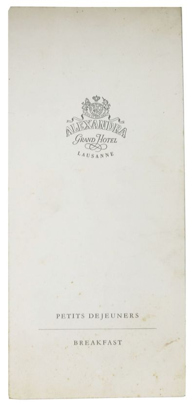 (n.p.), (n.d.). 1st Printing. White, thin, card stock self wrappers, printed in gray. Now housed in ...