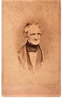 CARTE DE VISITE OF AMERICAN PORTRAIT PAINTER, THOMAS SULLY (1783-1872)