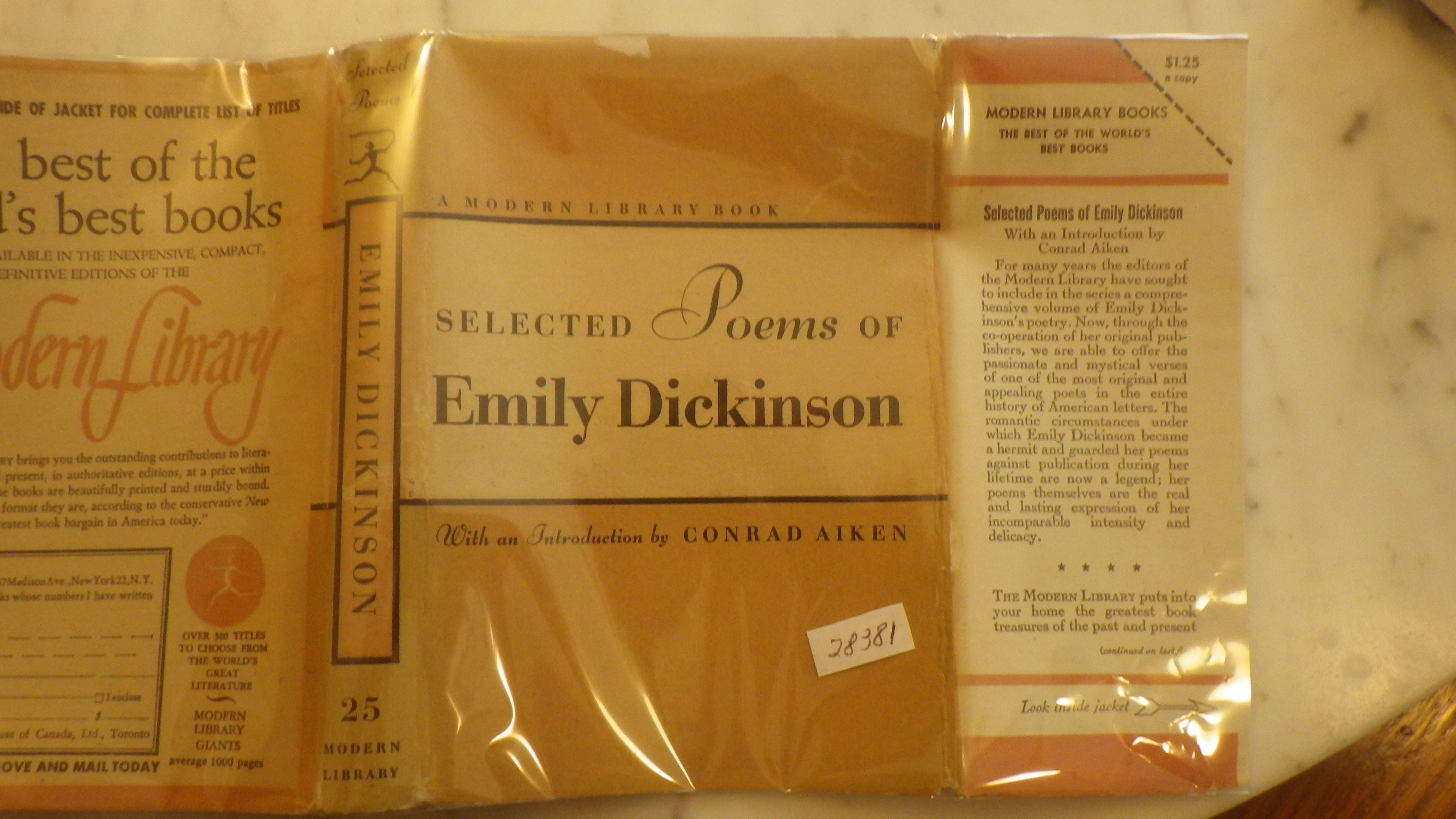 an introduction to the literature by emily dickinson View i'm_nobodywho_are_you[1] from english 125 at ashford university im nobody the poem: i'm nobody who are you by emily dickinson name eng125: introduction to literature (gsh1111h) prof.