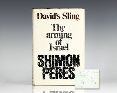 London: Weidenfeld & Nicolson, 1970. First edition of the story of the creation of Israel's armed st...