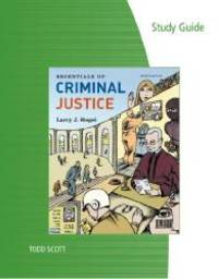 image of Study Guide for Siegel's Essentials of Criminal Justice