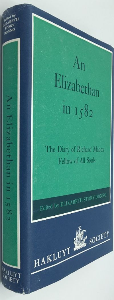 London: The Hakluyt Society, 1976. First Edition. 365pp. Octavo Blue cloth with the title gilt stamp...