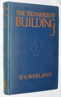 The Technique of Building