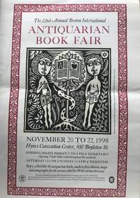 22nd Annual Boston International Antiquarian Book Fair Poster.