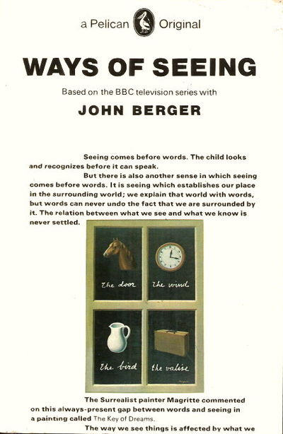 the ways of seeing by john A bafta award-winning bbc series with john berger, which rapidly became regarded as one of the most influential art programmes ever made in the first progra.
