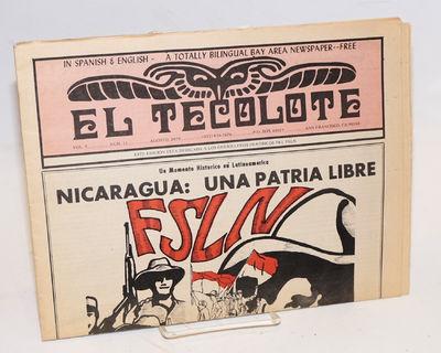 San Francisco: El Tecolote/Espina del Norte Pub, 1979. Newspaper. 20p., bound dos-a-dos, folded tabl...