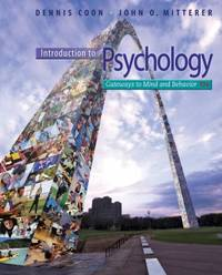 image of Introduction to Psychology : Gateways to Mind and Behavior with Concept Maps and Reviews