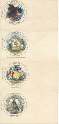 "Collection of 36 Magee ""Arms of the United States"" Patriotic Envelopes"