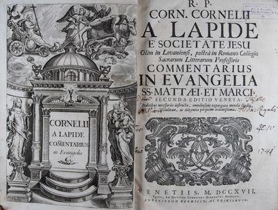 Venetiis (Venice): Hieronymi Albritii, 1717. Second Venetian edition. Hardcover. g to vg. Folio (13 ...