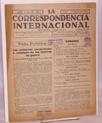 image of La Correspondencia internacional; revista semanal, año VIII, núm.5, 22 Enero 1937