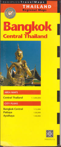 image of Bangkok, Central Thailand map (Periplus Travel Maps)