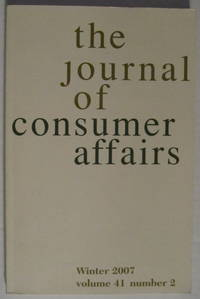 The Journal Of Consumer Affairs: Winter 2007 Volume 41 Number 2