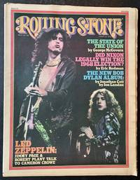 Rolling Stone (Issue #182, March 13th, 1975 -- Jimmy Page and Robert Plant on the Cover)