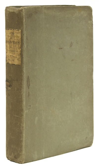 London: Hurst, Chance & Co, 1831. Second edition. xv, 408, pp. 1 vols. 8vo. Original drab paper boar...