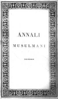 ANNALI MUSULMANI.
